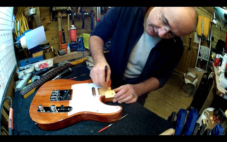 Harley Benton Telecaster Kit Build Upgrade And Set Up Part 1 Hohm